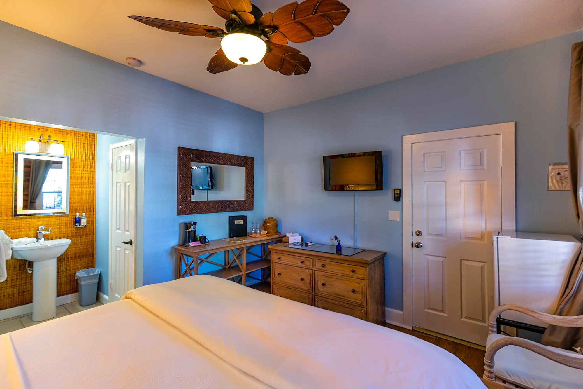 Inside our Deluxe Guest Room in Key West
