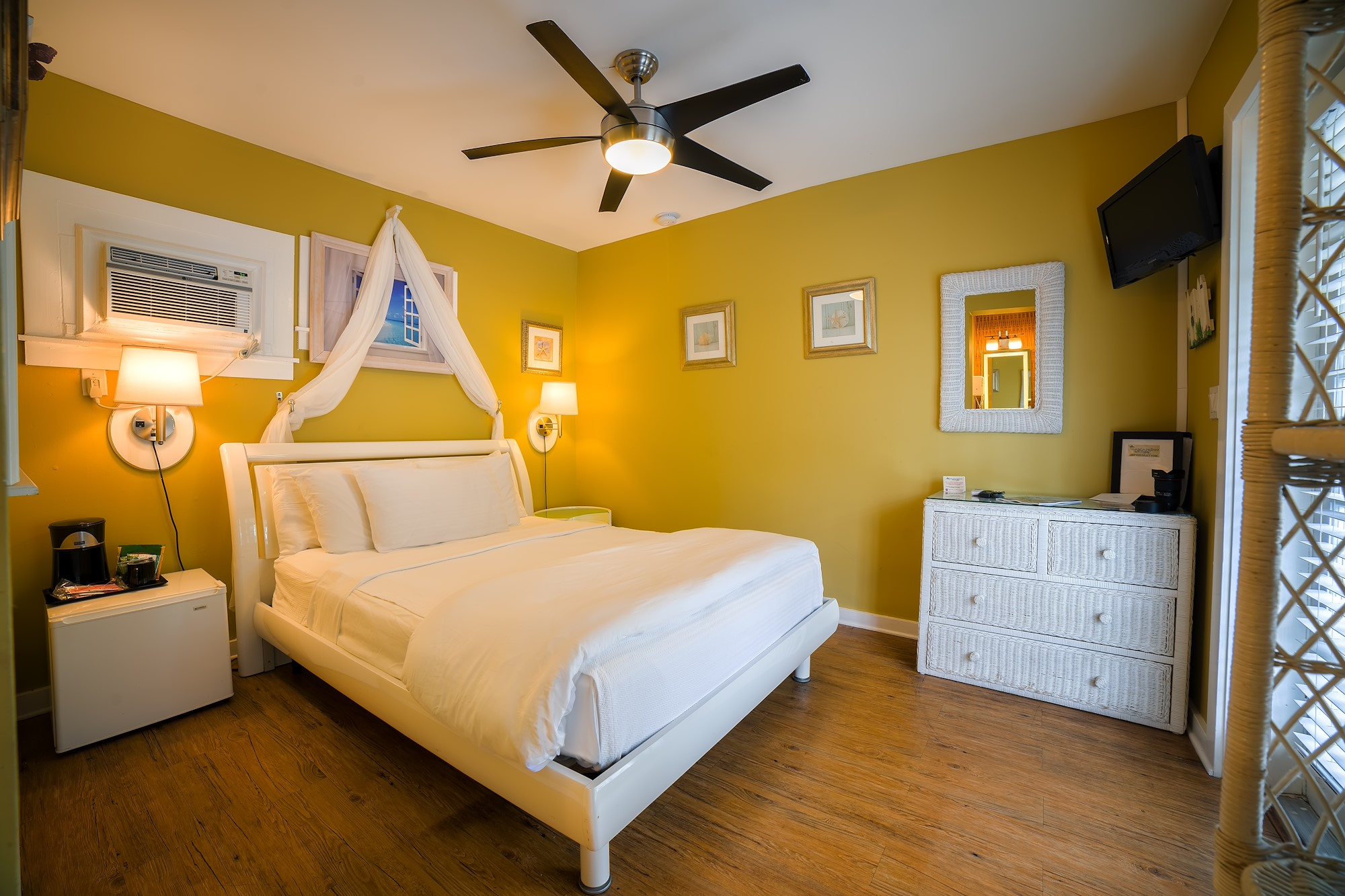 Our Poolside Deluxe Queen Room in Key West