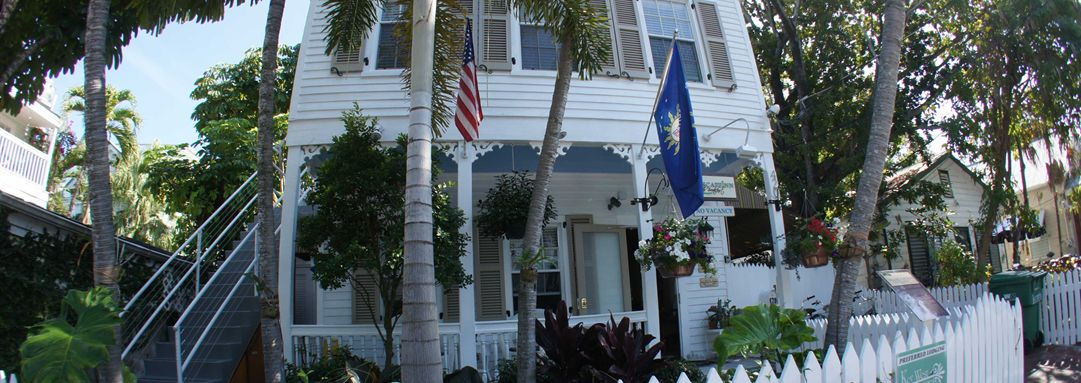 Outside view of our Key West Bed and Breakfast