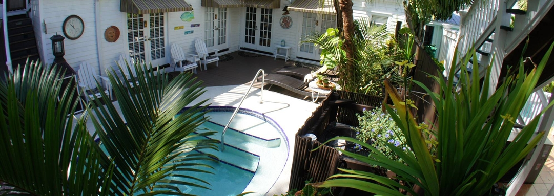 The Pool at Our Key West Hotel