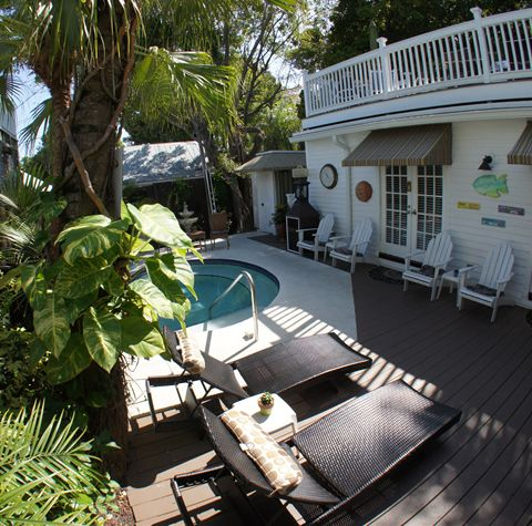Key West Bed and Breakfast Pool Area