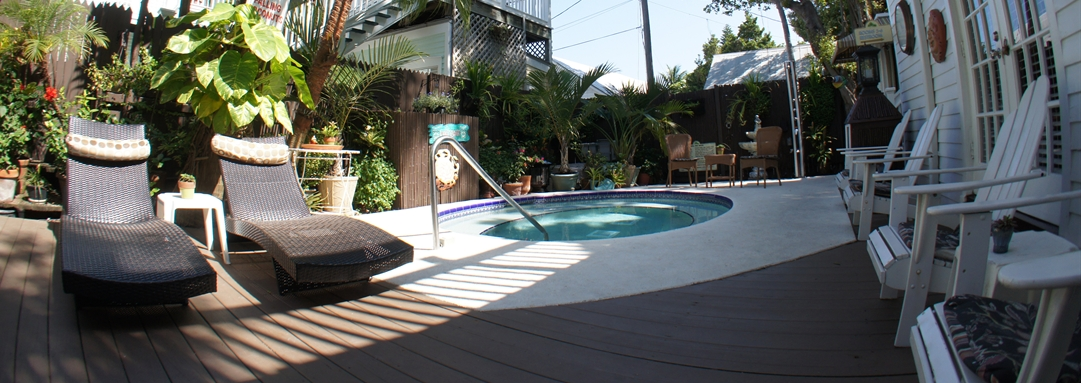 Our Key West Bed and Breakfast Pool