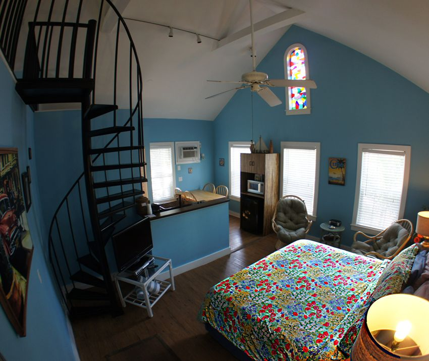 Inside view of our boutique Bed and Breakfast in Key West, Florida