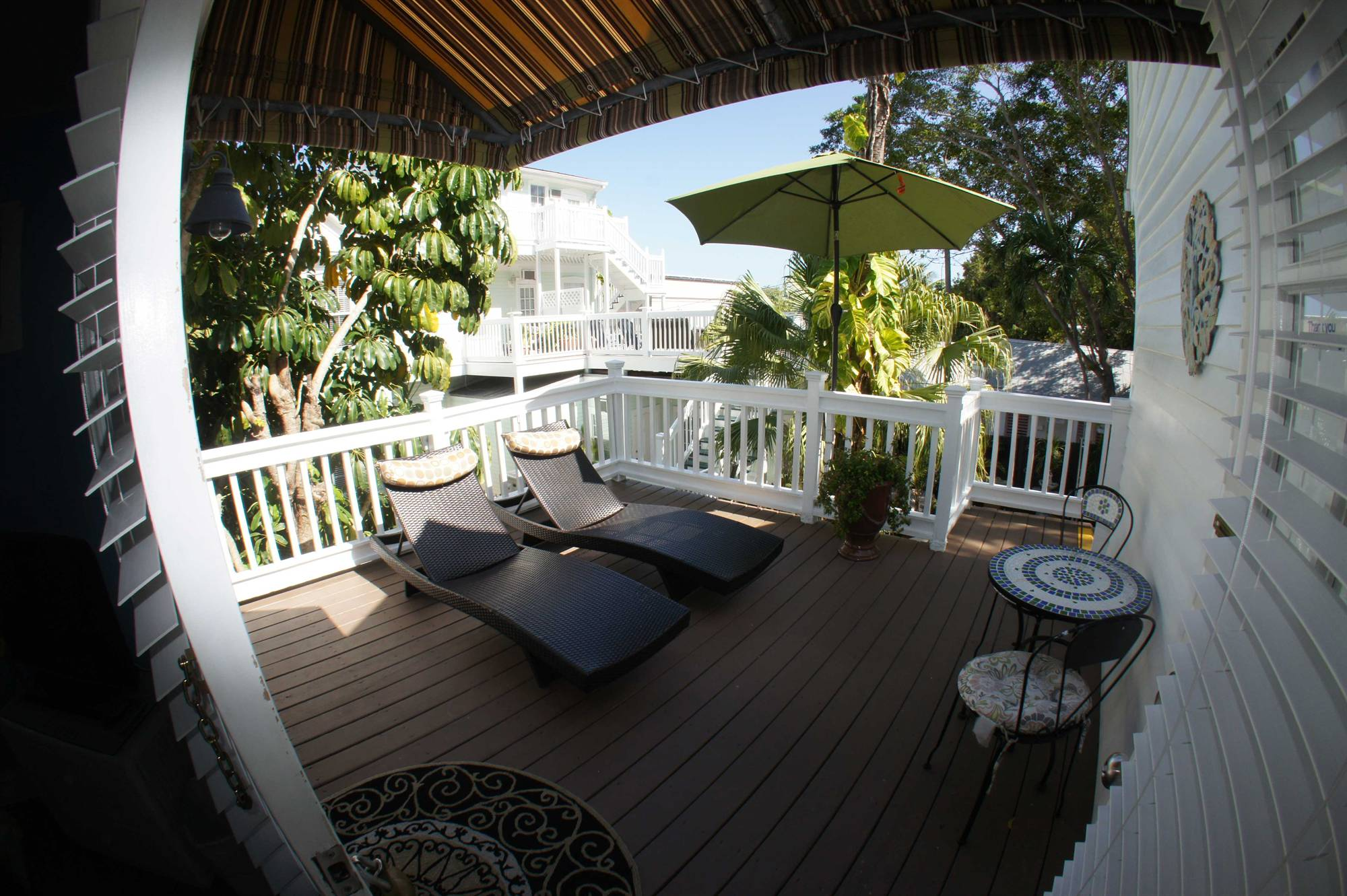 Our Key West Deluxe Queen Room with Patio