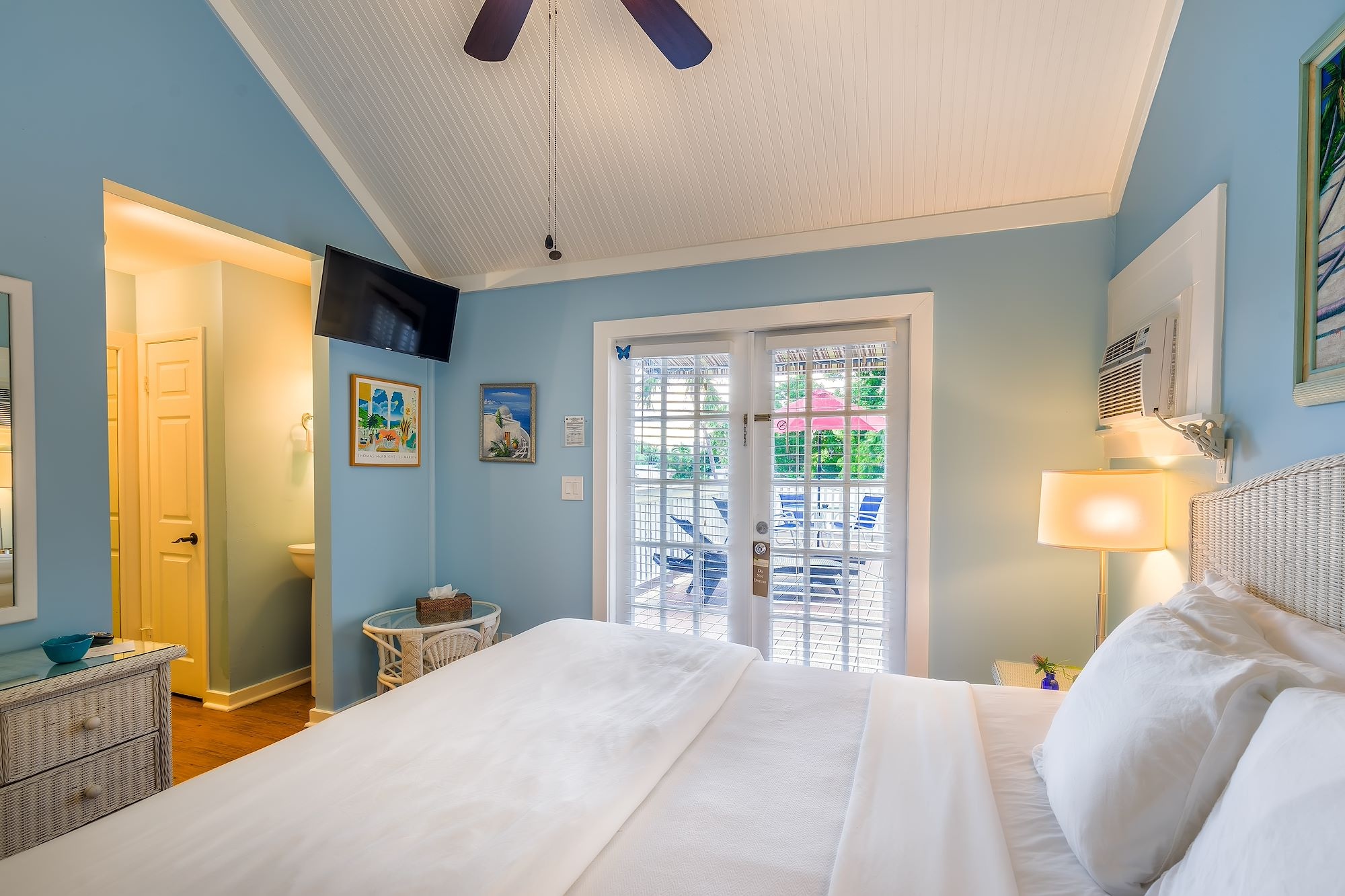 Our Deluxe King Room with Patio in Key West