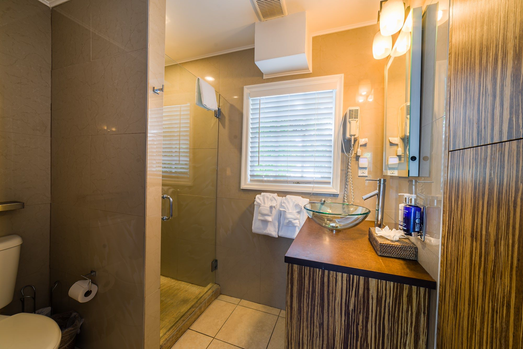 Bathroom of Our Key West Deluxe Queen Room with Patio